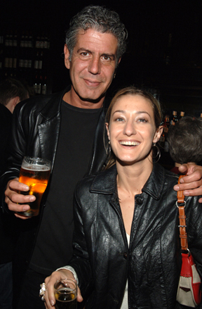 Tony and Paula, his between-wives girlfriend